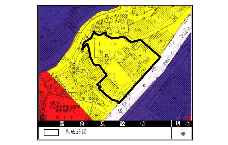 新民段-土地使用分區