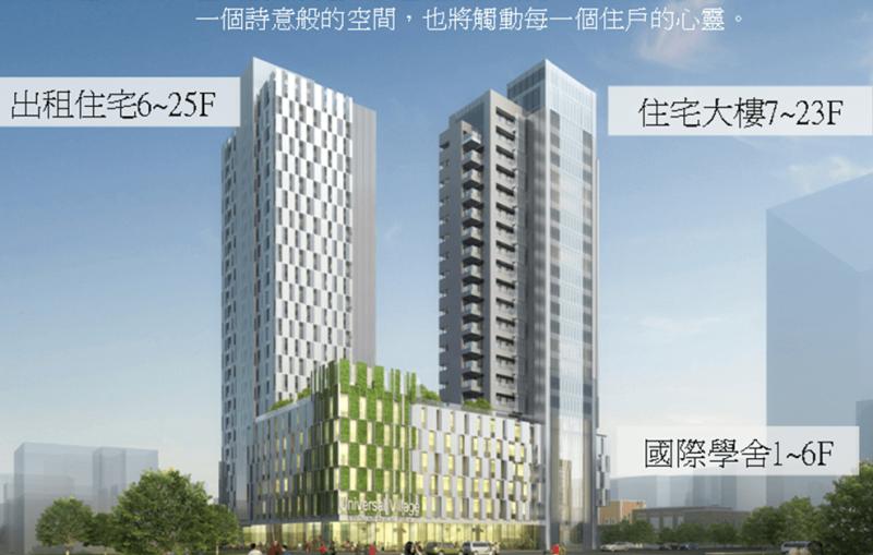 臺北市中正區南海段五小段72地號等17筆土地都市更新案代表圖