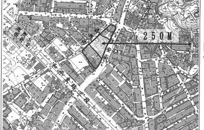臺北市信義區犁和段三小段302、303地號公有土地都市更新案基地位置圖