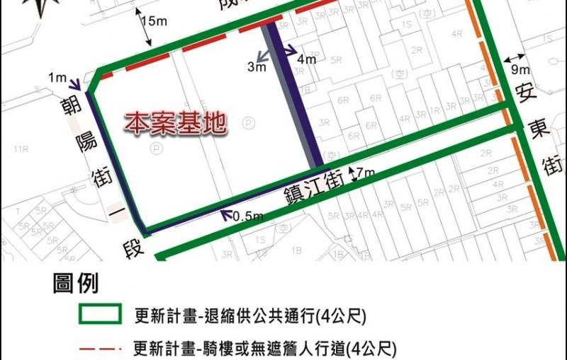 桃園市東門停車場(桃園區東門段208-1地號等14筆土地)公辦都更案都市設計構想圖