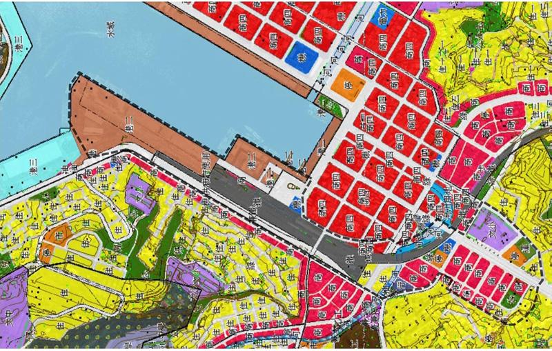 計畫範圍土地使用分區圖