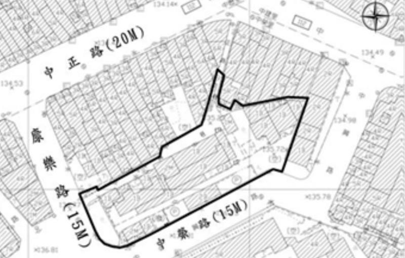 中興巷-基地範圍