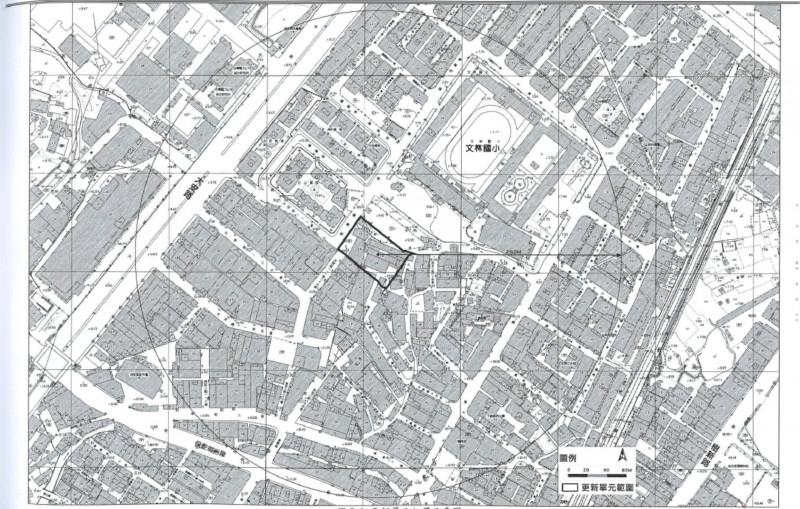 樹林區文林段1769-更新單元範圍